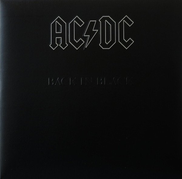 AC/DC. Back In Black LP