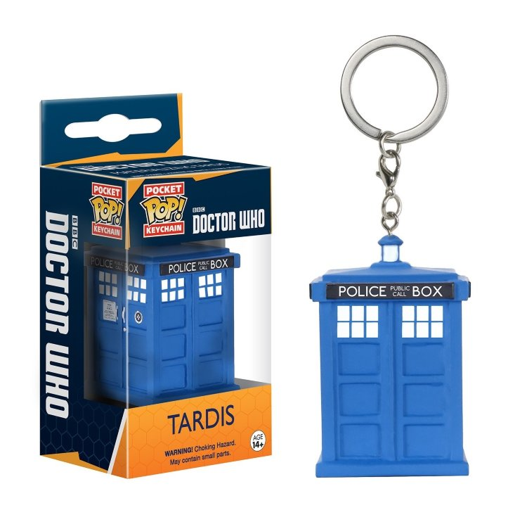 Funko Doctor Who Pocket POP! TV Tardis Keychain