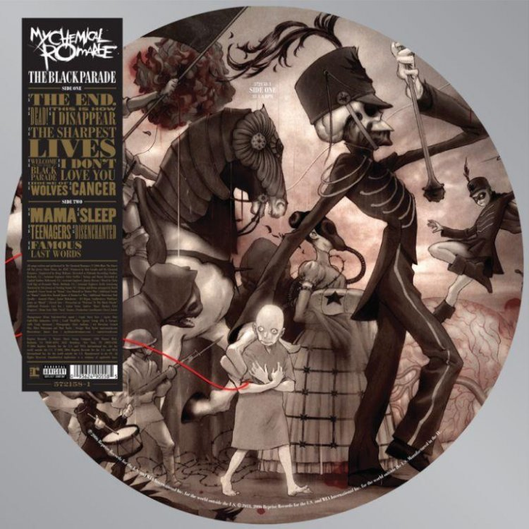My Chemical Romance. The Black Parade LP Picture Disc