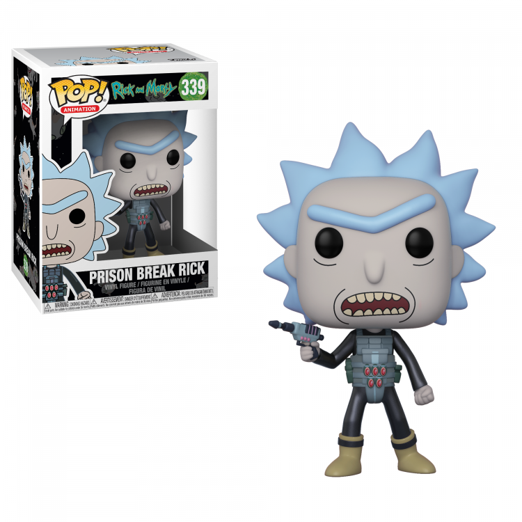Фигурка Funko POP! Animated: Rick & Morty Prison Escape Rick