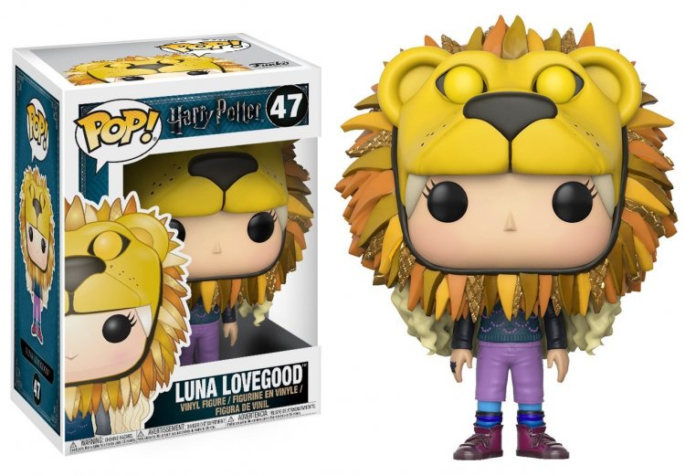 Фигурка Funko POP! Vinyl: Harry Potter: Luna Lovegood w/ Lion Head 14944