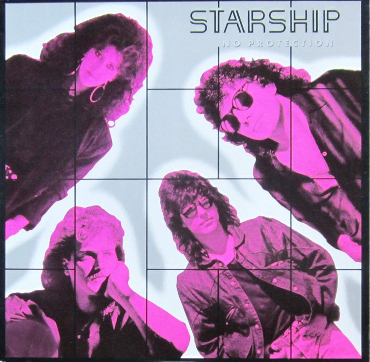 Starship - No Protection LP 1987 Germany